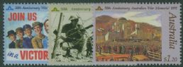 AUS SG1283-5 Anzac Day, 50th Anniversaries set of 3